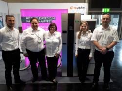 revecta-rückgabeautomat auf der euvend