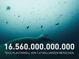 Plastikteilchen verschmutzen Ozean