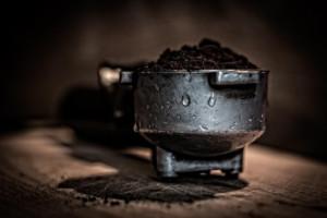 Kaffeemaschine Kaffeesatz