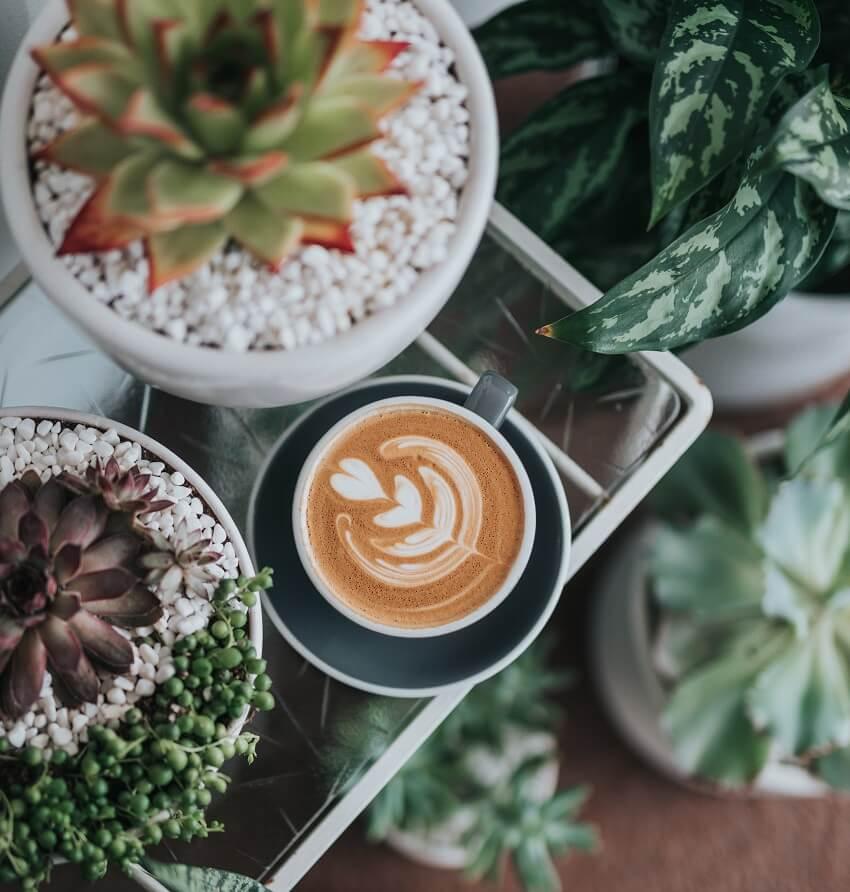 Kaffee in Tasse