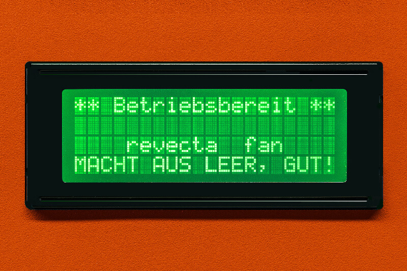 becherautomat bechereinwurf display