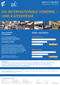 Hersteller Becherrücknahmeautomat auf der Messe in Köln