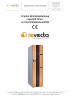 Betriebsanleitung Rücknahmeautomat